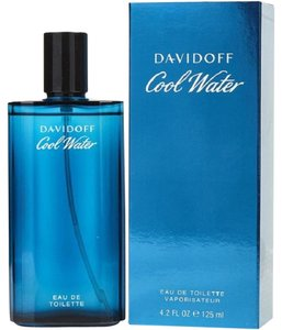 davidoff Cool Water by Davidoff 4.2 oz/ 125 ml EDT Spray Men's New !!!