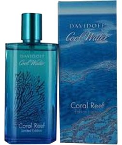 davidoff Cool Water CORAL REEF 4.2 oz/ 125 ml EDT Spray Men's New !!!