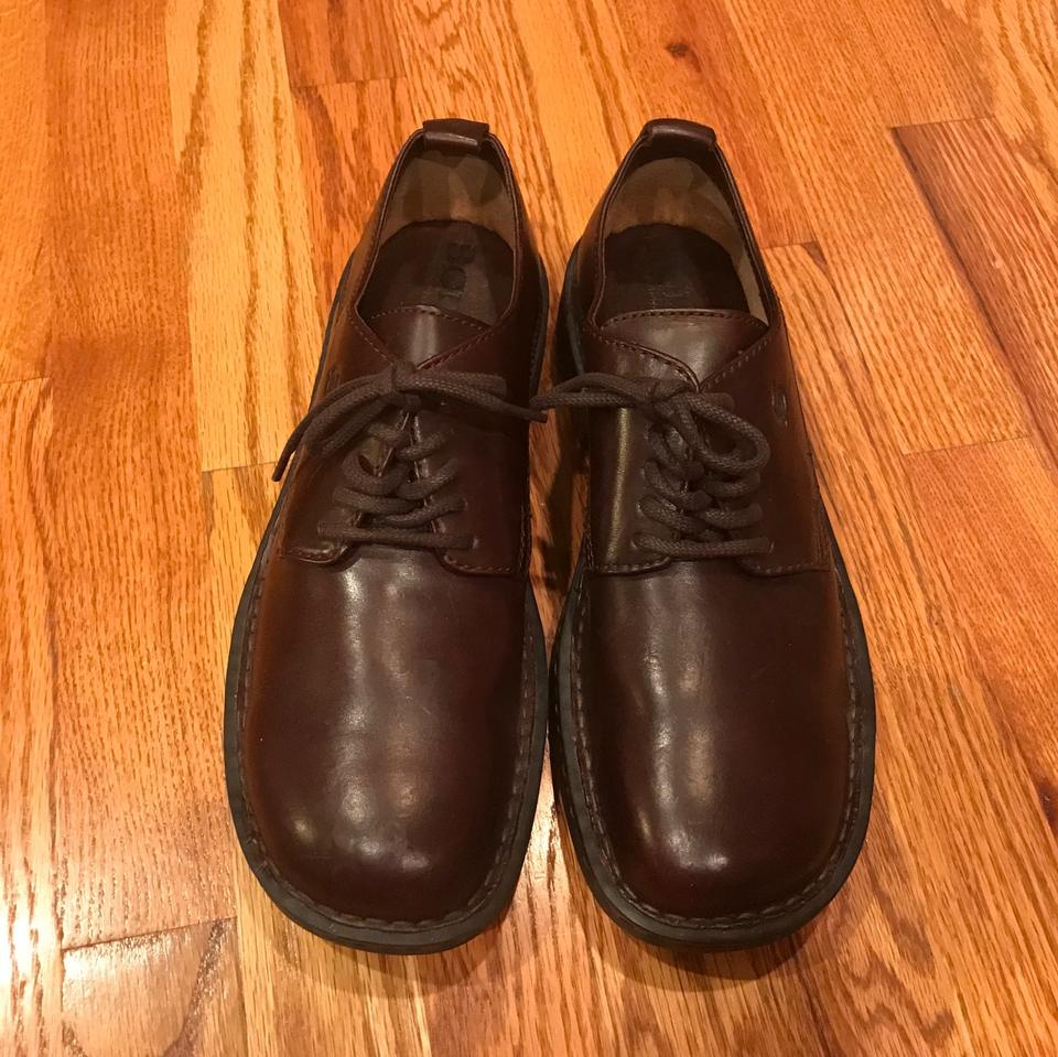 Leather Oxford Shoes M new Brown Dress Børn 9 5qUvzE0