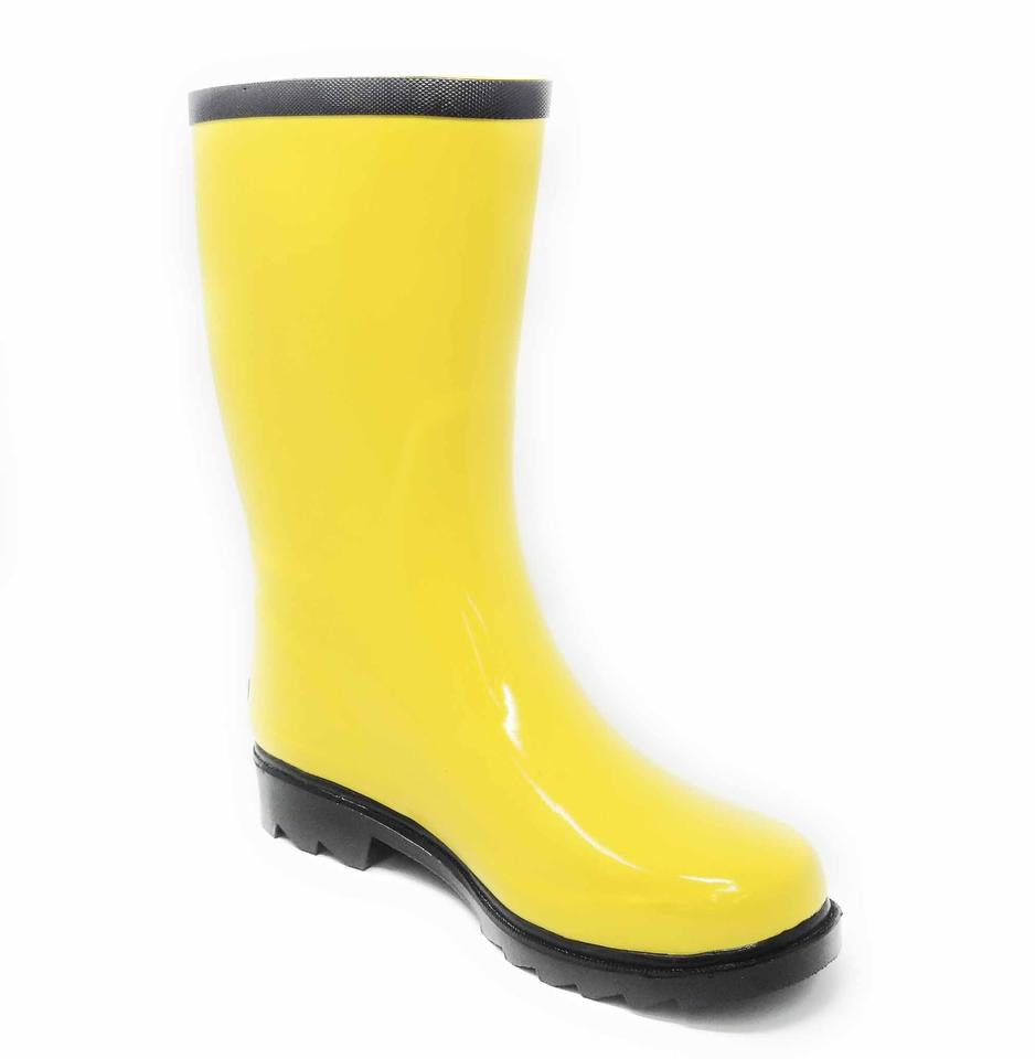 b09ace230 Forever Young Yellow Women Waterproof Rubber Rainboots Rb-6045 Boots ...