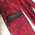 Dior Red Christian Men's Necktie Tie/Bowtie Image 4