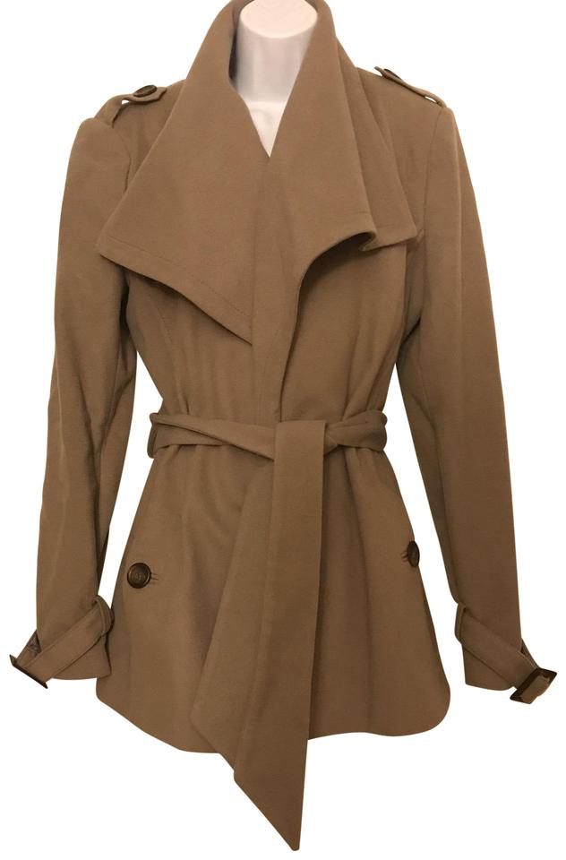 6492eb0c9 Ted Baker Taupe Rn106523 Jacket Size 8 (M) - Tradesy