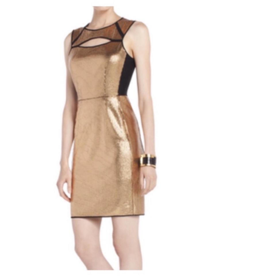 Bcbgmaxazria Bcbg Bcbgdress Sequin Cutout Dress