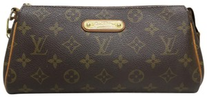 Louis Vuitton Lv Canvas Eva Brown Shoulder Bag