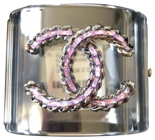 Preload https://img-static.tradesy.com/item/23184582/chanel-clear-rare-pvc-purple-cuff-bracelet-0-1-540-540.jpg