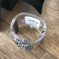 Chanel rare pvc purple chain clear cuff Image 3