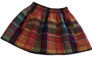 Hollister Mini Skirt multi plaid
