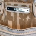 Guess Satchel in taupe and white Image 1