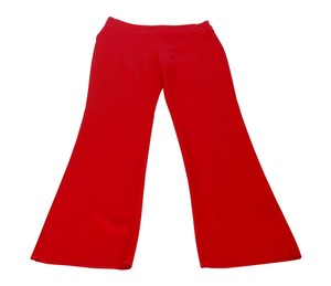 Valentino Trouser Wide Leg Pants Red