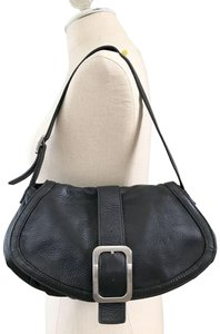 Cole Haan Genuine Leather Leather Small Hobo Bag