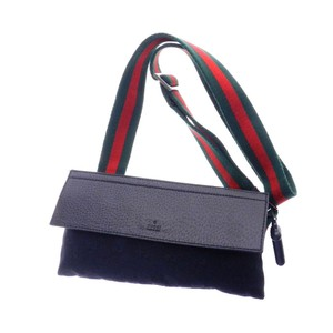 Gucci Monogram GG Signature Web Belt Bag