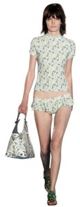 Tory Burch New with Tag Tomino Surf Shirt swim shirt Watercolor Botanical