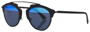 Dior Christian Dior Black & Blue So Real Sunglasses with Case