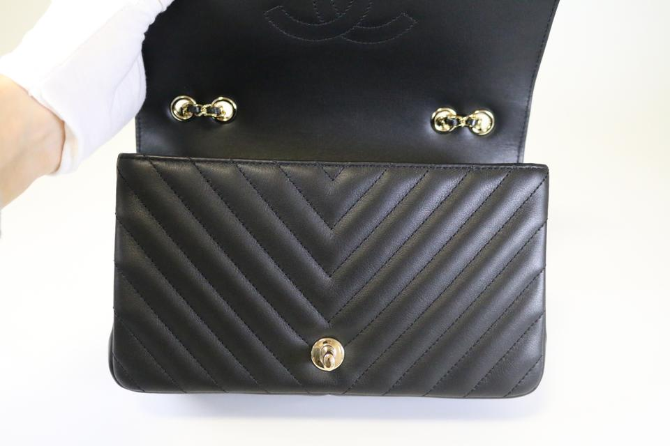 f9cfcb03653e2a Chanel Statement Statement Flap Chevron Flap Flap Cross Body Bag Image 10.  1234567891011