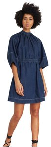 APIECE APART short dress Blue Tory Burch Tibi Dvf Rachel Zoe Isabel Marant on Tradesy