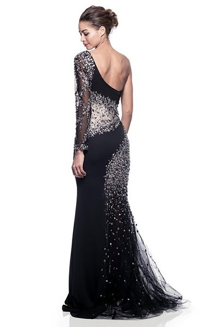 AG Studio Sparkle Evening Ball Gown Prom Party Dress Image 1