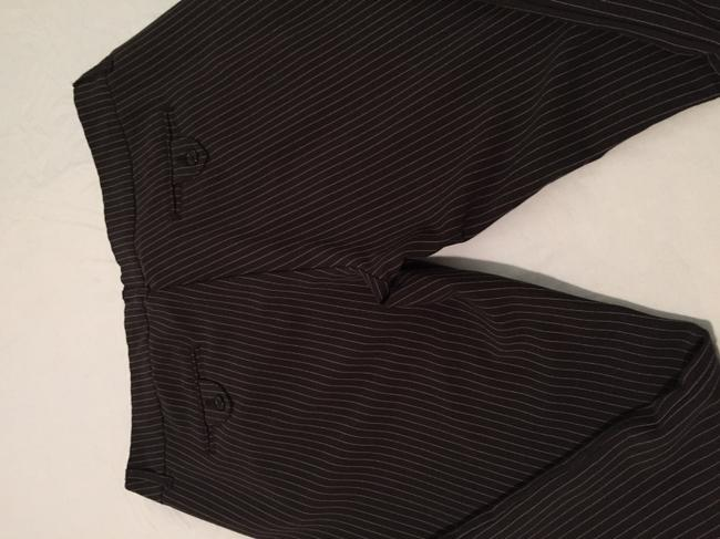 Old College Inn (stretch) Relaxed Pants Black/white pinstripe