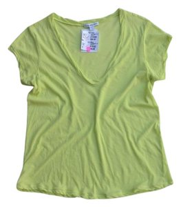 James Perse T Shirt Neon Green
