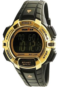 Timex TW5M06300 Ironman Unisex Black Resin Band With Black Digital Dial