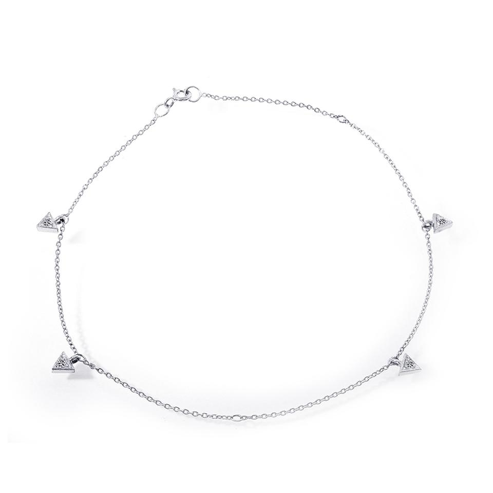 anklet bracelet white overstock silver hills free jewelry and shipping watches black sterling gold chain today product ankle