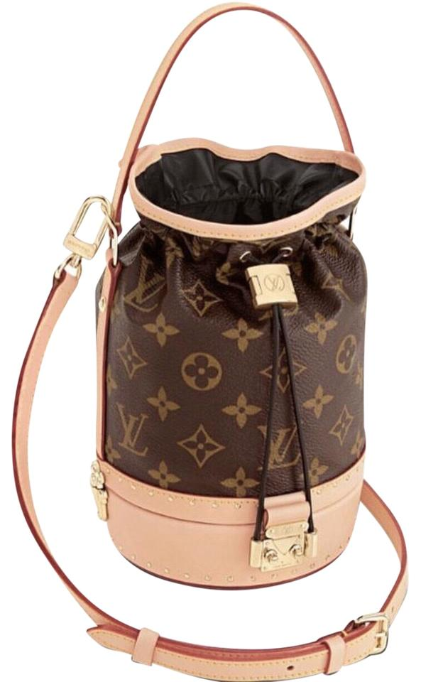b31612a4f5a3 Louis Vuitton Noé Petit Trunk Canvas Cross Body Bag - Tradesy