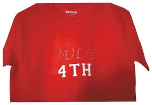 Gildan Active-wear Hloiday July 4th Clothes T Shirt red