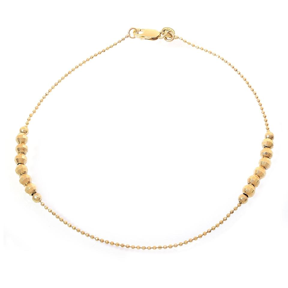 curb fine lightweight yellow gold products chain gift jewelry gi anklet