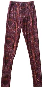 Rue 21 Burgundy Leggings