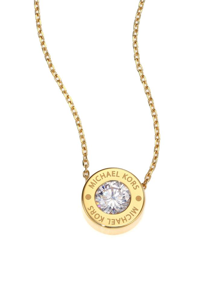 bluewater tone kors michael productx logo rose shopping pendant gold love necklace product