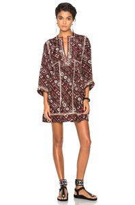 Isabel Marant short dress Claret Festival Summer Moroccan Bohemian Relaxed on Tradesy
