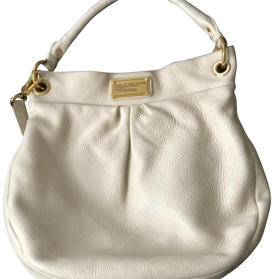 ce513ec54a1 Marc by Marc Jacobs Hillier Cream Leather Hobo Bag - Tradesy