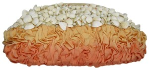 I Santi Ombre Shells Embellished Beaded multicolor Clutch