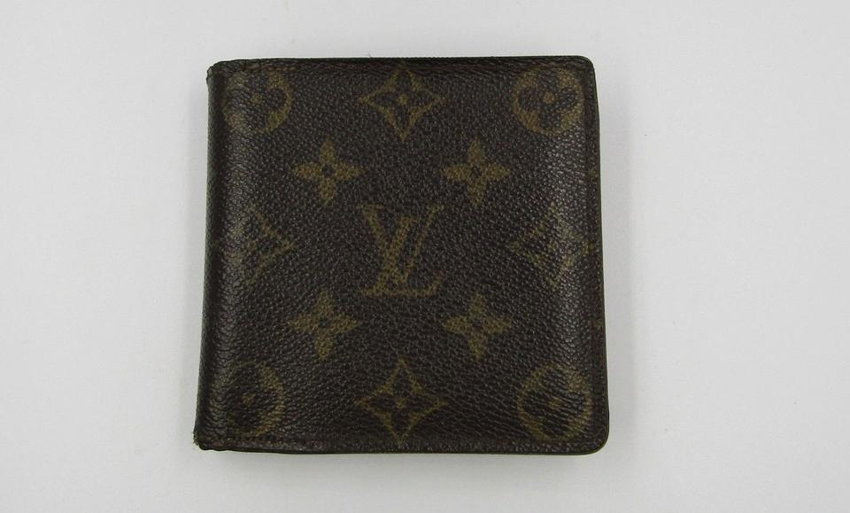 e288cbf8a482 Louis Vuitton Brown Lv Marco Monogram Canvas Men Tan Card Slots ...