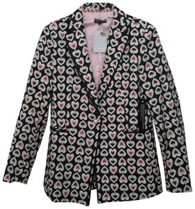 Sister Jane Black with Raspberry, Pink & Cream Blazer