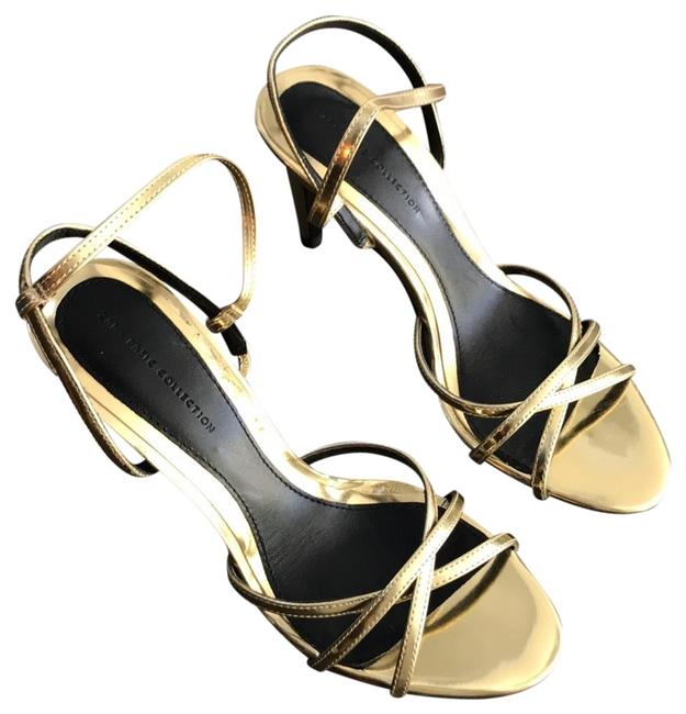 Item - Gold Formal Shoes Size US 6 Narrow (Aa, N)
