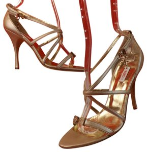 Versace CHAMPAGNE Sandals