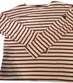 Saint James T Shirt Red and white Image 0