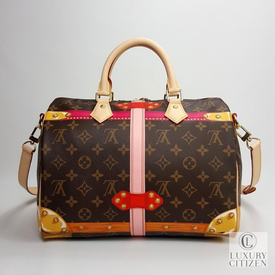 808c26f53c8c Louis Vuitton Speedy 30 Bandouliere Summer Trunks Monogram Shoulder Bag  Image 11. 123456789101112