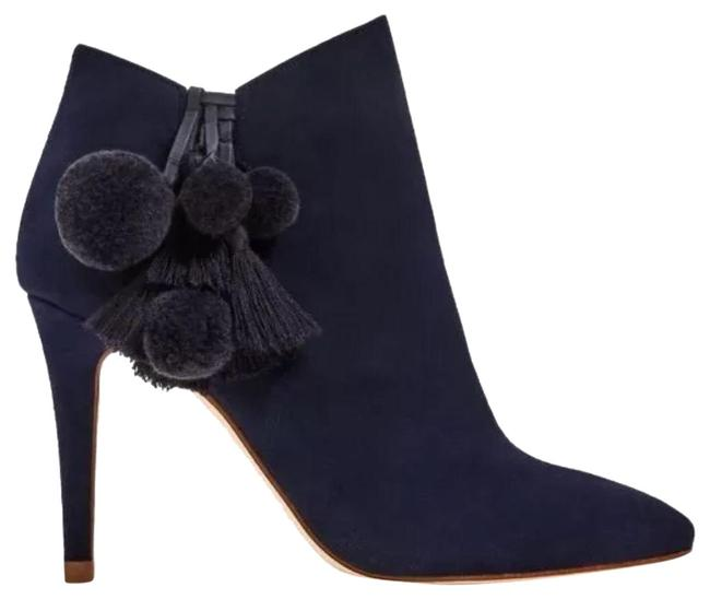 Item - Blue Leather Ankle Boots/Booties Size US 5 Regular (M, B)