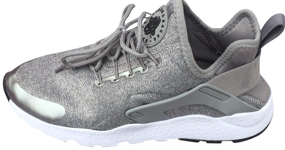 3ac5f951ed644 Nike Grey Silver  air Huarache Run Ultra Se  Sneaker Sneakers Size ...
