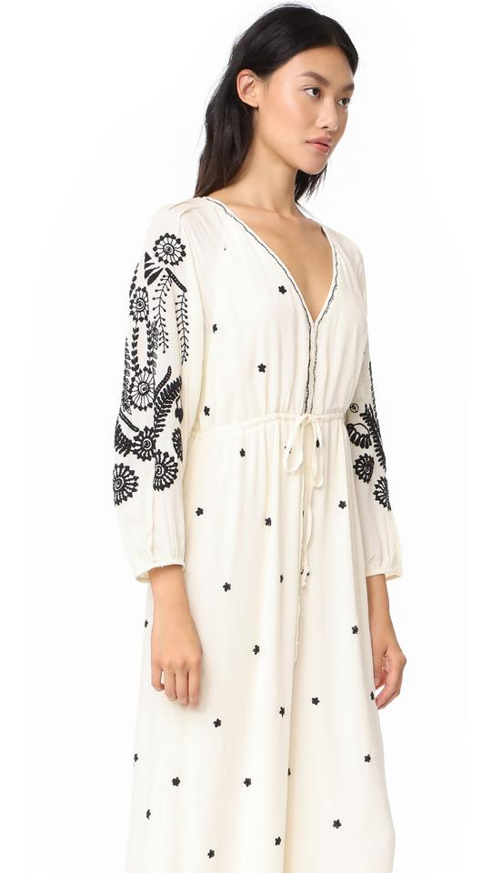 434fe4c6907b Free People Ivory Embroidered Romper Jumpsuit - Tradesy