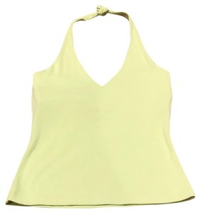 Carilyn Vaile lime green Halter Top