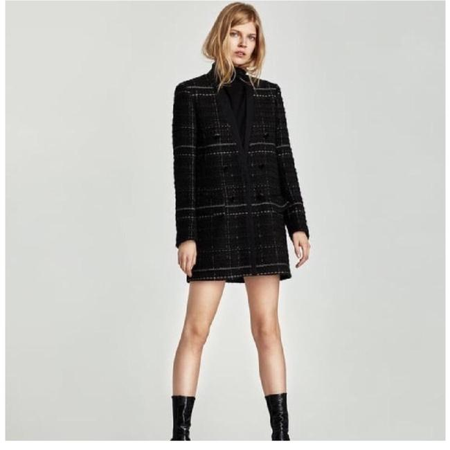 Item - Black Tweed Coat Size 4 (S)