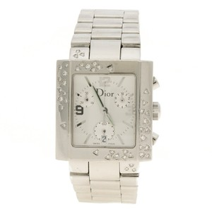 Dior Christian Dior Silver White Stainless Steel Riva Women's Wristwatch 31