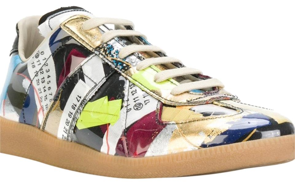 Sneakers Limited Replica Edition Patchwork Sneakers Margiela Maison Multicolor tcqwYZF6