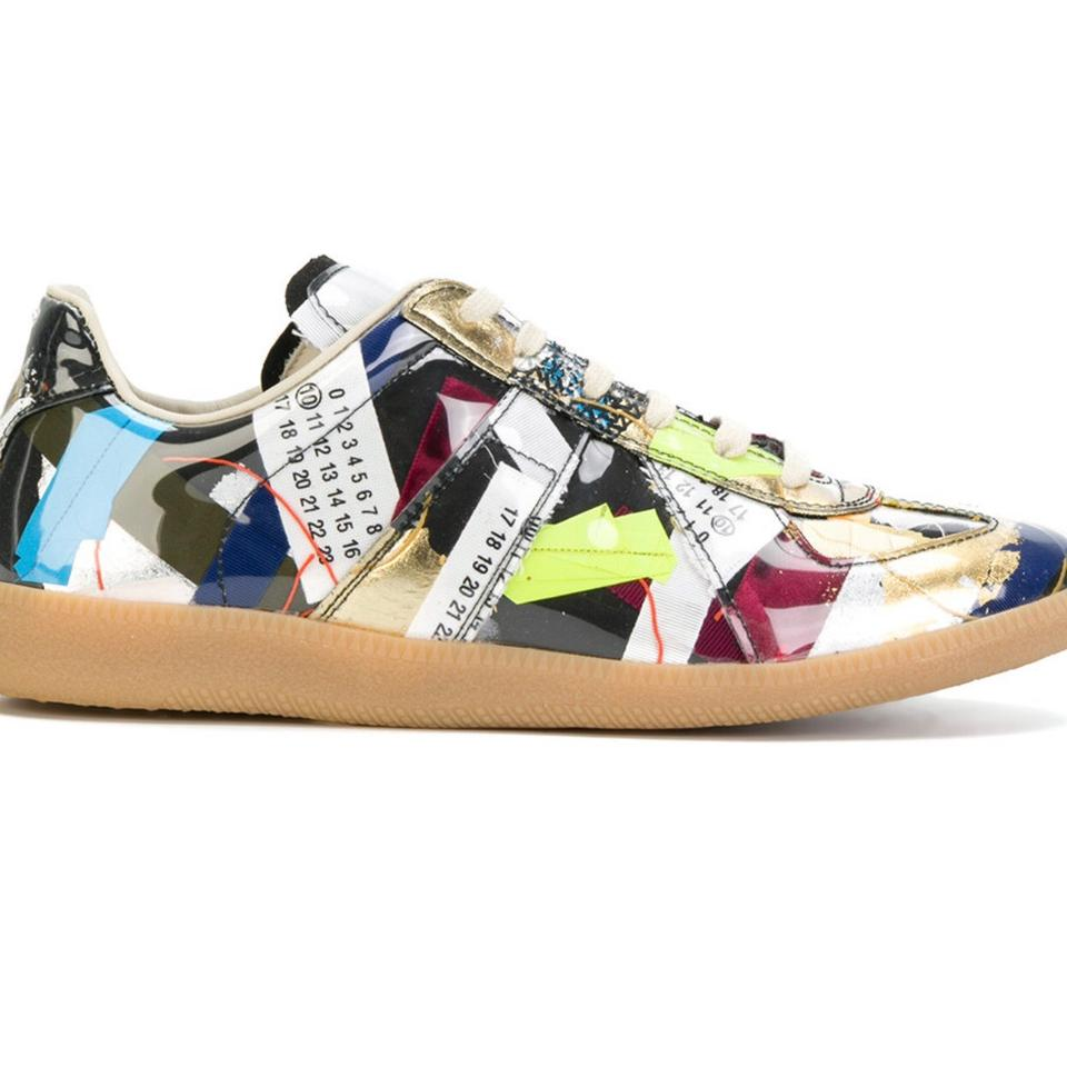 Limited Sneakers Sneakers Maison Edition Patchwork Multicolor Replica Margiela 0YH1t