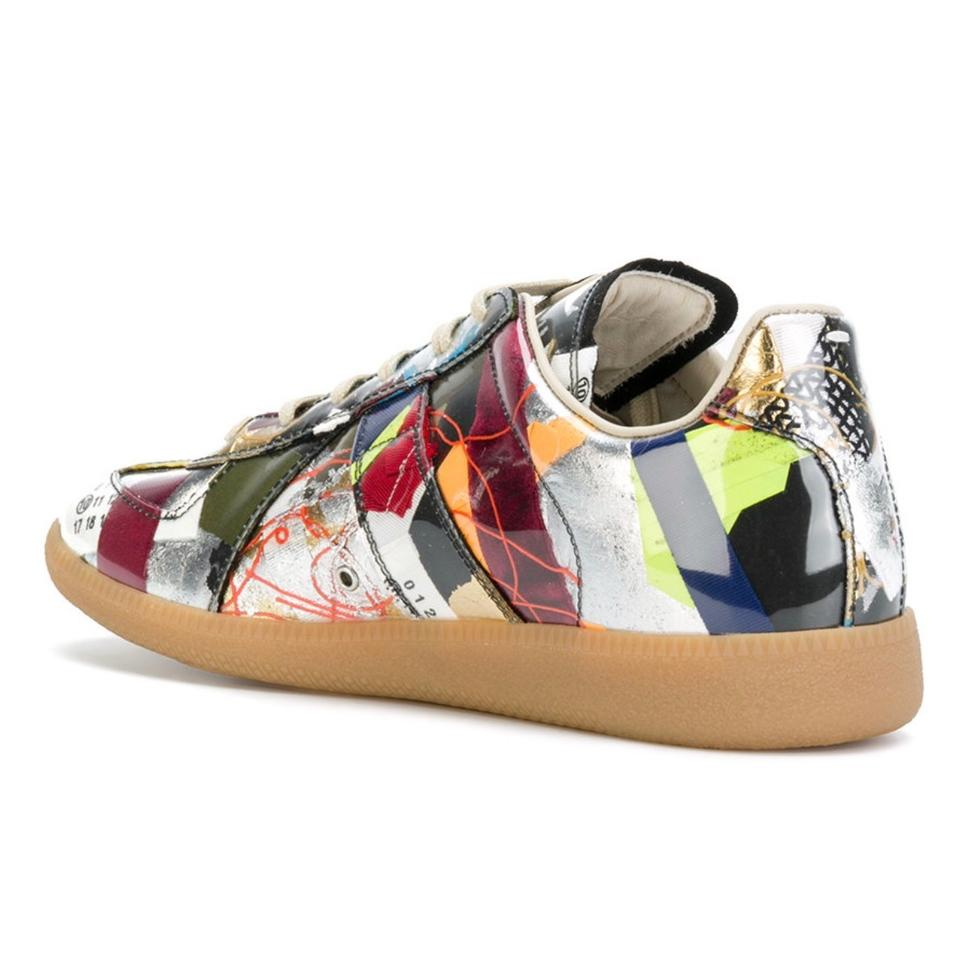 Multicolor Sneakers Margiela Edition Maison Limited Patchwork Sneakers Replica Uz8w5qn