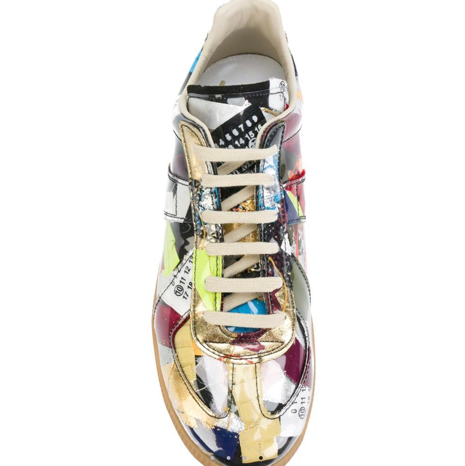 Multicolor Sneakers Sneakers Margiela Edition Maison Replica Patchwork Limited 0R8nwq5