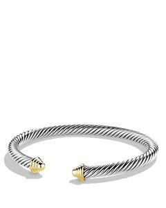David Yurman Sterling silver David Yurman Cable Classics bracelet