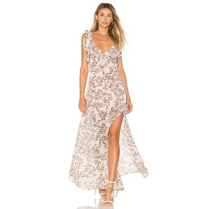 Pink Floral Maxi Dress by For Love & Lemons